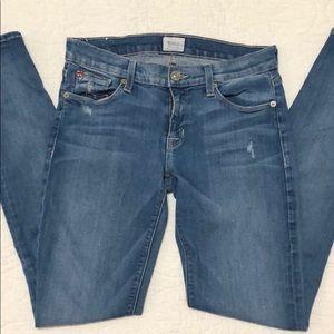 "Gently used Hudson ""Krista"" skinny jeans, size 26"